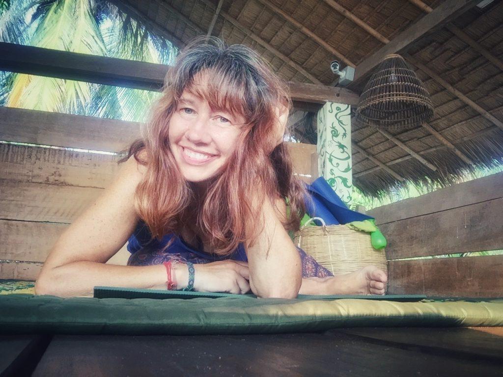 Montse Gili smiling