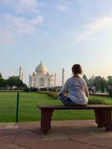 Taj Majal reflections